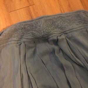 Gauzy maxi skirt